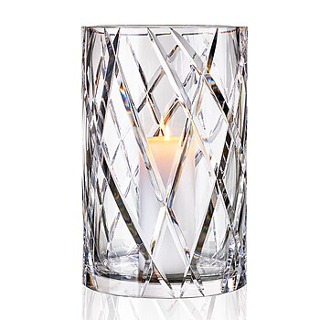 HURRICANE CRYSTAL LAMP EXTRA LARGE, Ljuslykta Clear