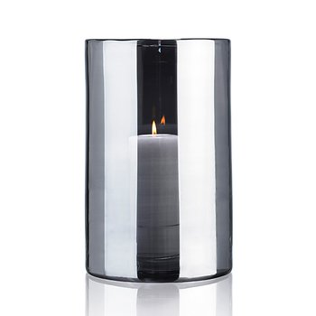HURRICANE LAMP EXTRA LARGE, Silver