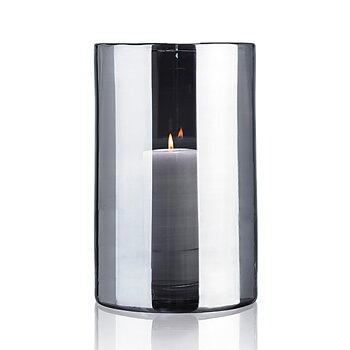 HURRICANE LAMP EXTRA LARGE, Ljuslykta Silver