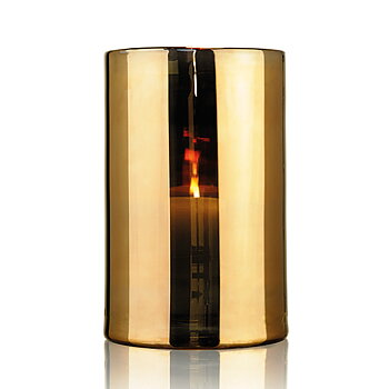 HURRICANE LAMP EXTRA LARGE, Ljuslykta Gold