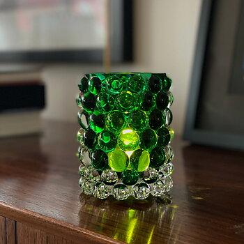 HURRICANE LAMP BOULE, Ljuslykta Green