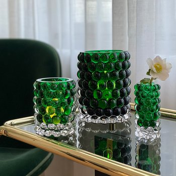 HURRICANE LAMP BOULE LARGE, Ljuslykta Green