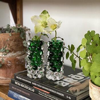 HURRICANE BOULE MINI, Green Mini Vase