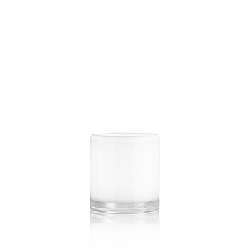 HURRICANE LAMP SMALL, White