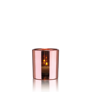 HURRICANE LAMP SMALL, Ljuslykta Rosé