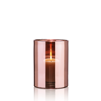 HURRICANE LAMP MEDIUM, Ljuslykta Rosé