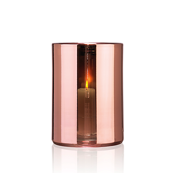HURRICANE LAMP LARGE, Rosé