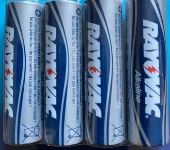 RAYOVAC MAXIMUM PLUS AA 4ST