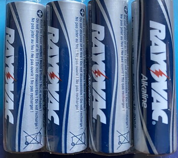 RAYOVAC MAXIMUM PLUS AAA 4ST