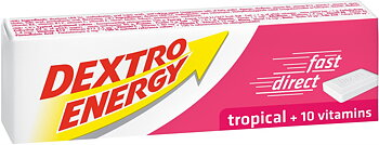 DEXTRO ENERGY TROPICAL 14ST 47G  x 24 st
