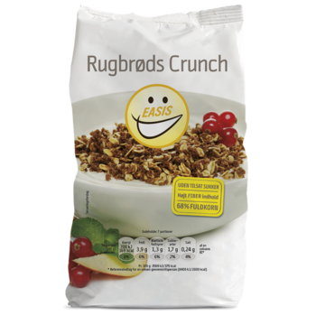 RÅG CRUNCH 350G EASIS