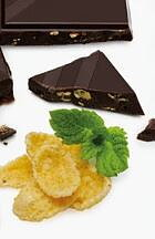 DARK CHOCOLATE TABLET - CRUNCH AND MINT - EASIS