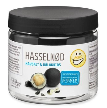 Hasselnöt Sea Salt & Rå Lakrits 80 gr- Easis