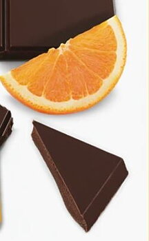 ORANGE DARK CHOCOLATE TABLET  - ORANGE DARK  60% - EASIS