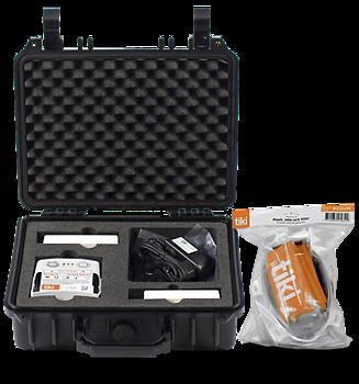 TIKI MULTI med TIKI USER, Åndedrettsvern, Egnet når flere brukere trenger å dele utstyret En enkel overtrykksmaske med P3 filter.