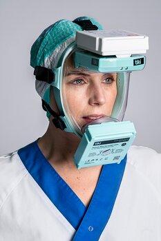 TIKI MEDICAL Åndedrettsvern, NYHET! En enkel overtrykksmaske med 2 x P3 filter. Filtrerer både innånding og utånding