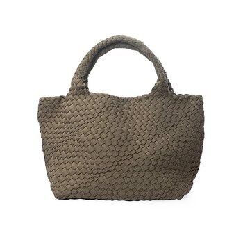 HAND BRAIDED SHOPPER SAND CEANNIS