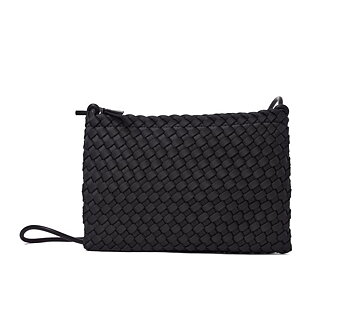FLAT BAG BLACK HAND BRAIDED CEANNIS