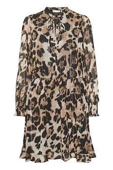 CharleyIW Dress Beige Animal InWear