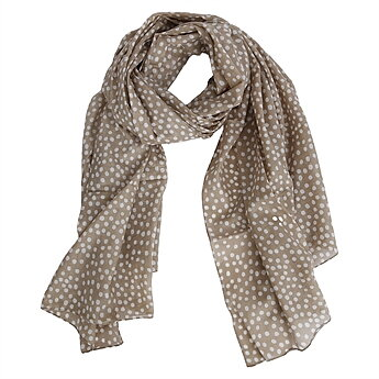 Scarf Adelyn, beige The Moshi