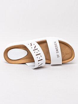 Sweeks - Hedda - Vita slip in sandaler med platå