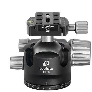 Leofoto LH-55 kulled + QP-70 snabbplatta