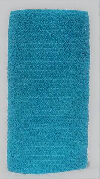 Vetrap 10 cm x 4,5 m ljusblå  VetProvide Kohesiv självhäftande bandage