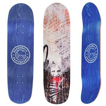"""Boardwalk Skateboards Fangs 8.5"""" Pool Shape"""