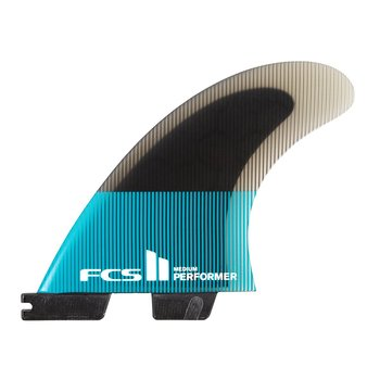 FCS II Performer PC Thruster Large Teal/Black