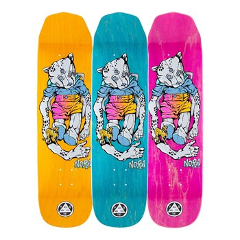 """Welcome Skateboards Nora Vasconcellos Teddy on Wicked Princess  8.125"""""""