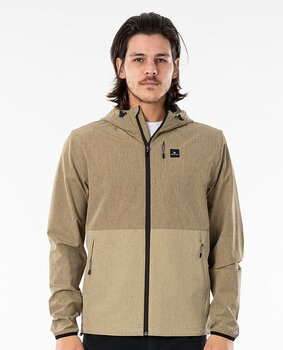 Rip Curl Elite Anti Series Zip Jacket Khaki