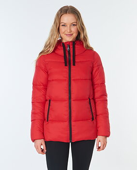 Rip Curl Anti-Series Insulated Coast Jacket Red