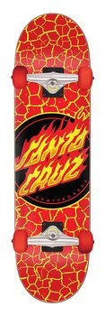 "Santa Cruz Flame Dot 8.25"" Komplett Skateboard"