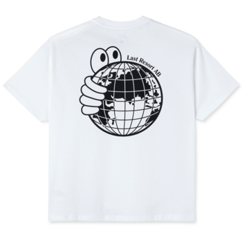 Last Resort AB World Tee White/Black