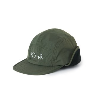 Polar Skate Co.  Flap Cap Army Green
