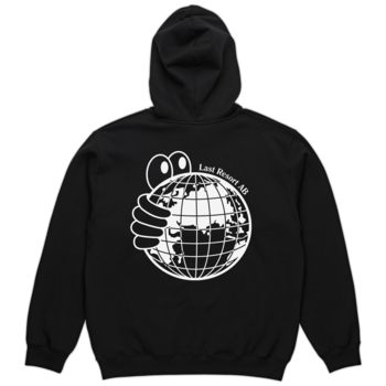 Last Resort AB World Hoodie Black