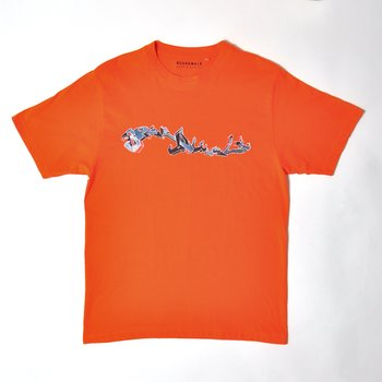 Boardwalk Surf & Street Graffiti T-Shirt Orange