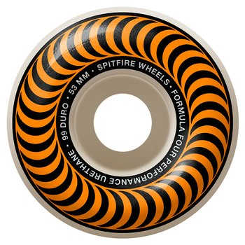 Spitfire Wheels Formula Four Classics 99DU 53mm Orange