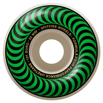 Spitfire Wheels Formula Four Classics 101DU 52mm Green