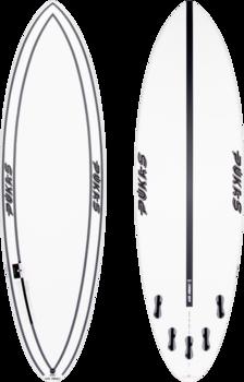 """Pukas Surfboards INN/CA Tech 69er Evolution 6.6"""" by Axel Lorentz"""