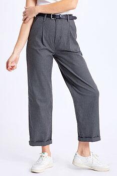 Brixton Women Victory Trouser Pant Black/Grey