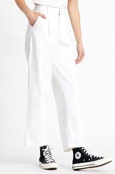 Brixton Women Victory Trouser Pant White