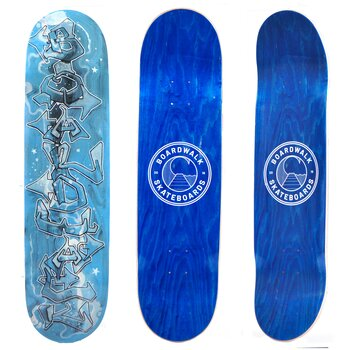 Boardwalk Skateboards Night Sky 8.25""