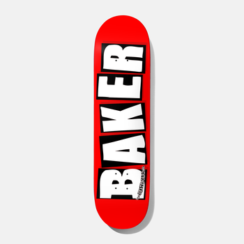 "Baker Skateboards Brand Logo 7.3"" White Mini"