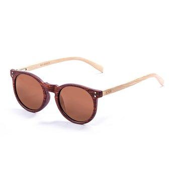 Ocean Sunglasses Lizard Wood Brown/Wood/Brown