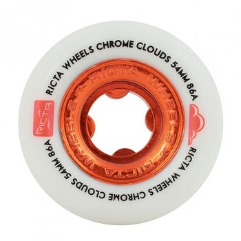 Ricta Chrome Clouds Red 54mm 86a