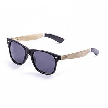 Ocean Sunglasses Beach Wood Black/Smoke