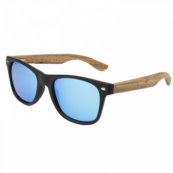 Ocean Sunglasses Beach Bamboo/Smoke Blue