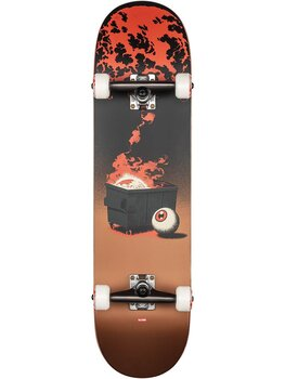 "Globe G2 On The Brink 8.25"" Dumpster Fire Komplett Skateboard"