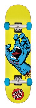 "Santa Cruz Screaming Hand Yellow 7.75"" Komplett Skateboard"